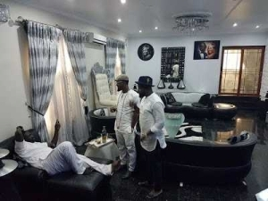 Warri Billionaire, Ayiri Emami, Chills In His Mansion (Photos)
